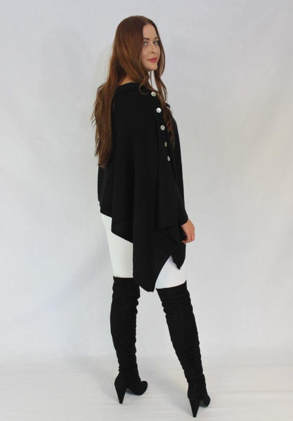 blackbuttoned cashmere