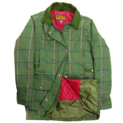 fakenham tweed shooting jacket moss lining