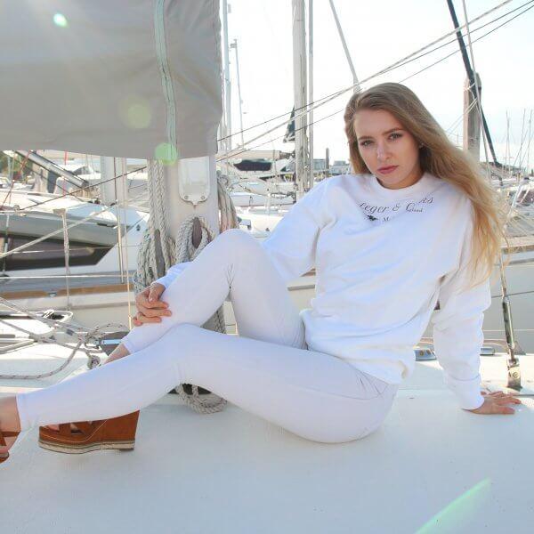 Burghley Sweatshirt Arctic White